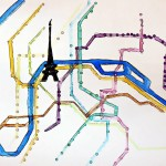 My most important map of the last two years - metro - paris