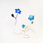 Monica Georgescu_Blue flowers by M