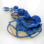 Violeta Atanasova_blue stone flower